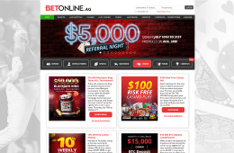 Promotions and bonus offers at betonline.ag