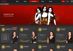 Bodog is an excellent choice for players who prefer games with live dealers