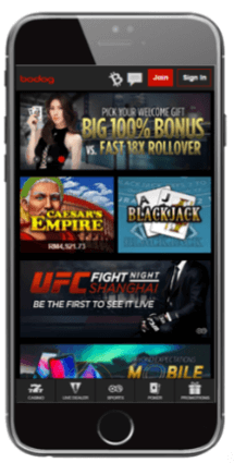 You can play at Bodog Casino on your iOS, Android or Windows device