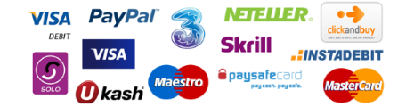 Casino.com accepts deposits with some of the most used payment methods