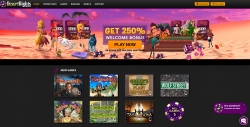 Desert Nights Casino landing page