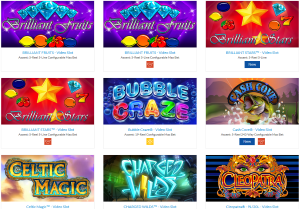 IGT specializes in design, development and production of slot games