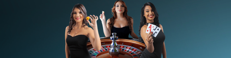 The live dealer games at Jackpotcity are provided by Evolution Gaming