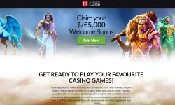 Mansion Casino landing page