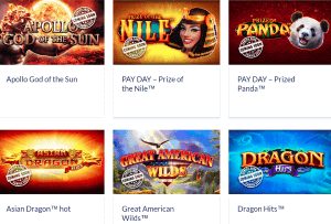 Novomatic provide a wealth of slots games with a multitude of styles and concepts!
