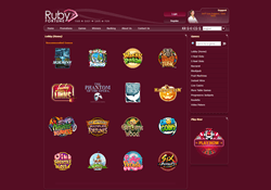 ruby fortune games