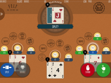 How to play Felt Gaming's 6-in-1 Blackjack?