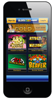 Games at SlotoCash are available for mobile play