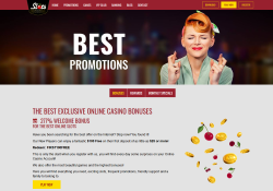Ongoing promotional offers at Slots Capital