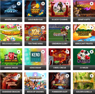 Slots.lv's excellent library of games offer more than 400 titles to its customers